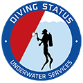 Diving Status Sticky Logo