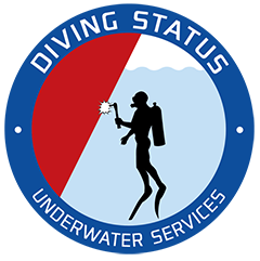 Diving Status Sticky Logo Retina